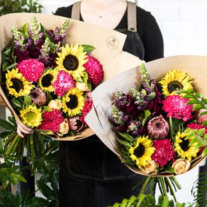 Bright flower bouquet delivered in Brisbane