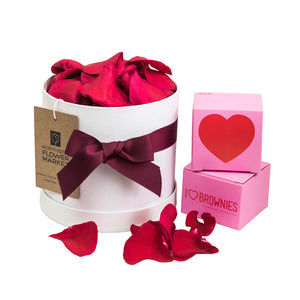 ROSE PETAL HAT BOX