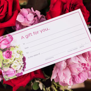 Gift Certificate for flowers Brisbane