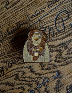 Dandy Lion Pin