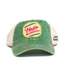 Load image into Gallery viewer, Hello Milwaukee Trucker Hat