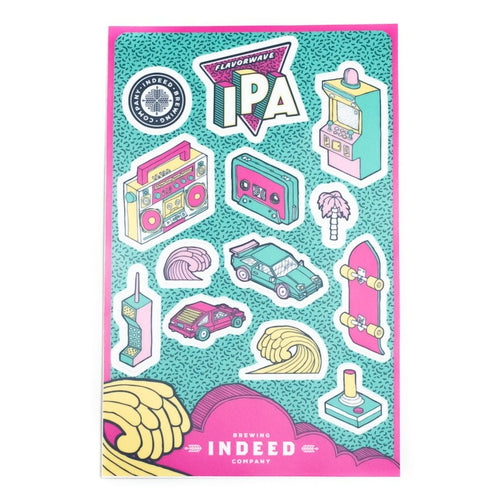 Flavorwave IPA Sticker Sheet