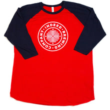 Load image into Gallery viewer, Baseball Club Raglan 3/4 Sleeve (Unisex)