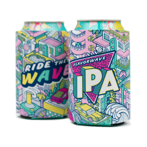 Flavorwave IPA Can Coozie