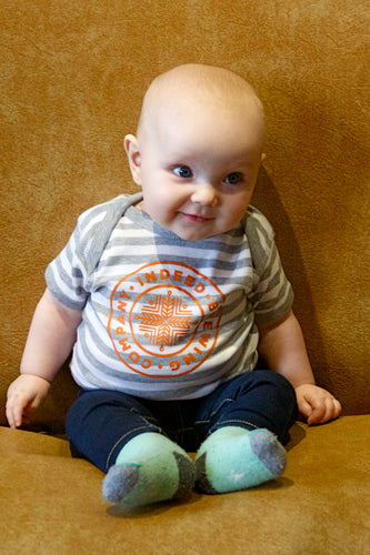 Indeed Logo Baby Onesie