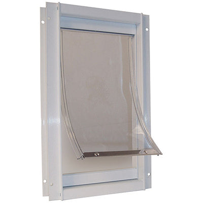 deluxe-white aluminium-pet-door-global-dog-company