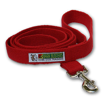 cotton-dog-training-lead-6ft-red-global-dog-company