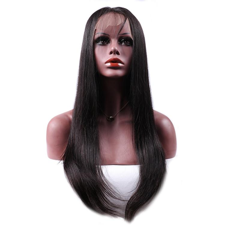 Velvety Straight Lace Front Wig