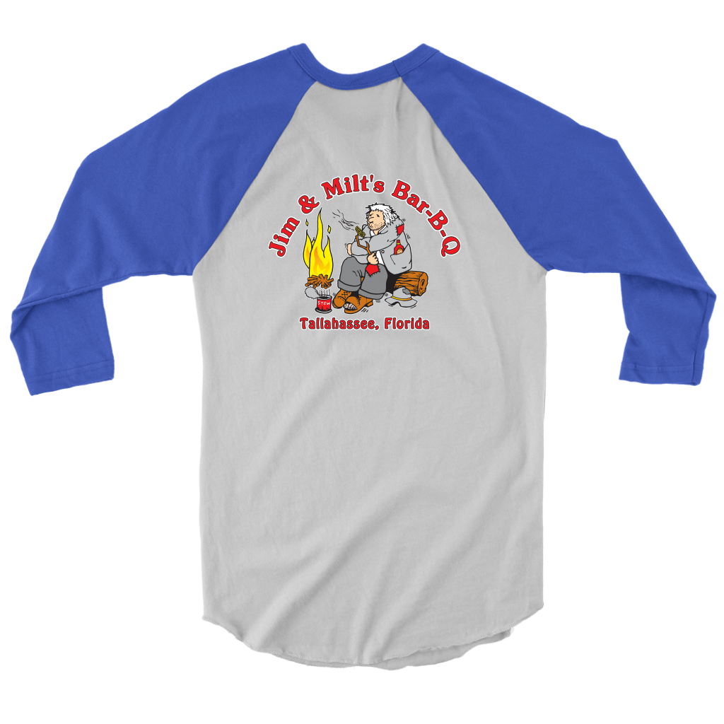 Jim and Milt's 2 Sided Full Color Baseball Jersey