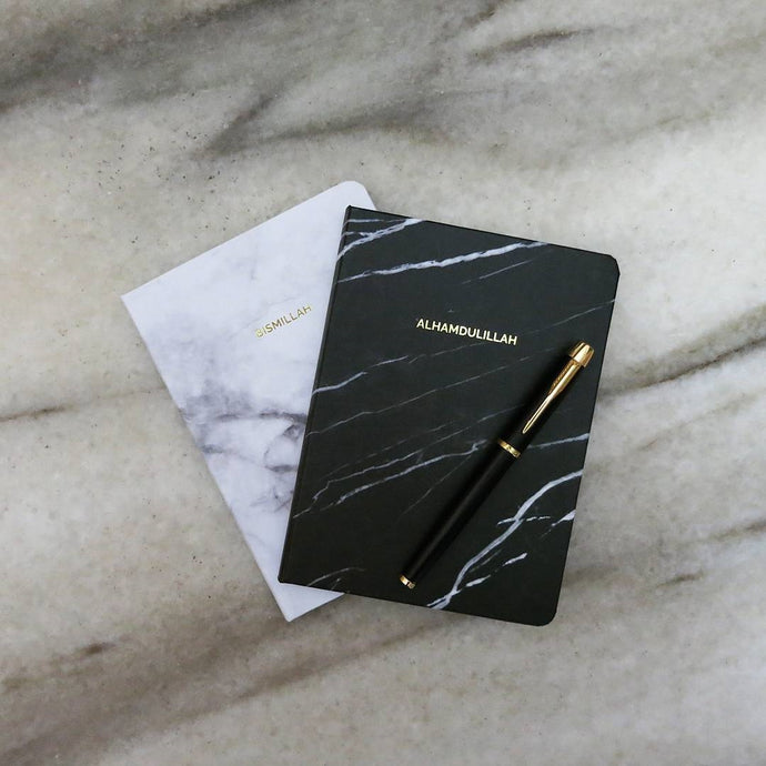 Minah Marble Notebook