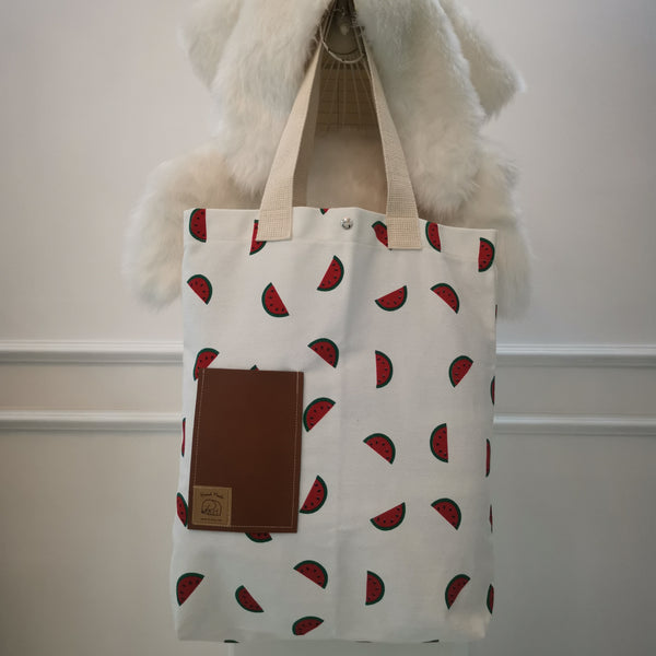 Watermelon Handmade Tote Bag