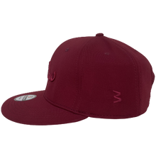 Load image into Gallery viewer, maroon salam snapback cap