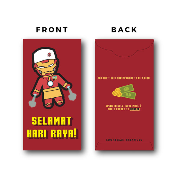 #RayaReady Marvel Iron Man Sampul Raya