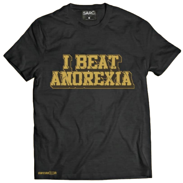 """I Beat Anorexia"" T-Shirt"