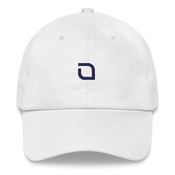 White JADEO Dad Cap