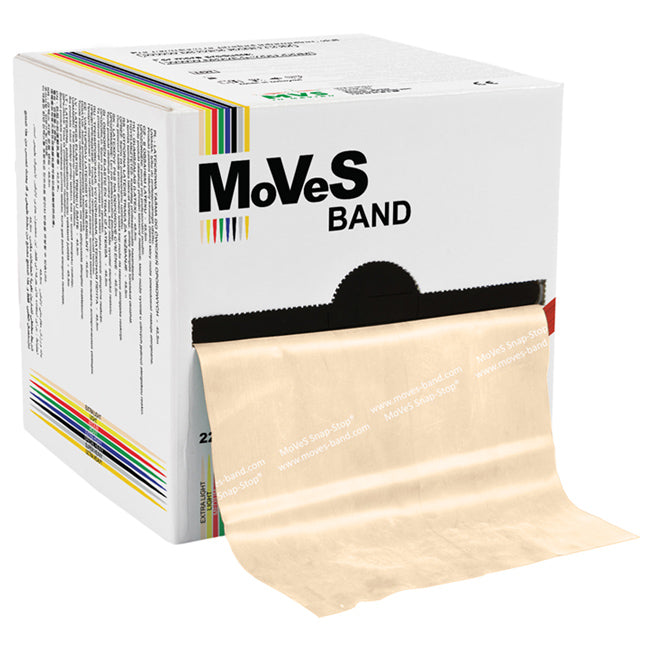 MoVeS Band 45,5 m, beige - extra leicht