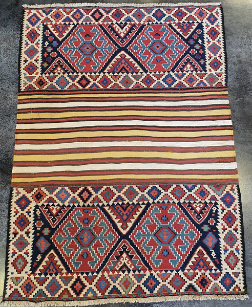 persian Antique Nani Kilim Shahsavan