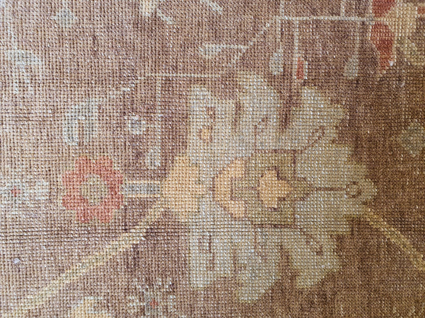 oushak knot quality rug for sale