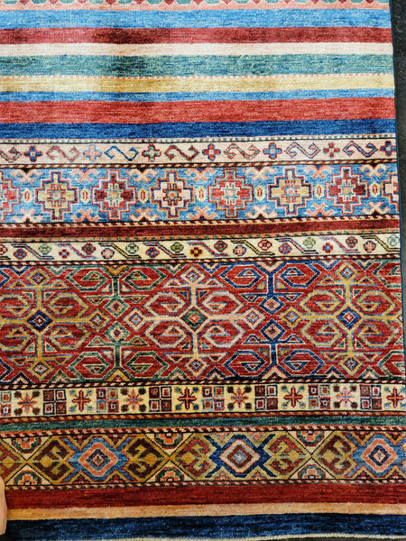colorful handmade rug