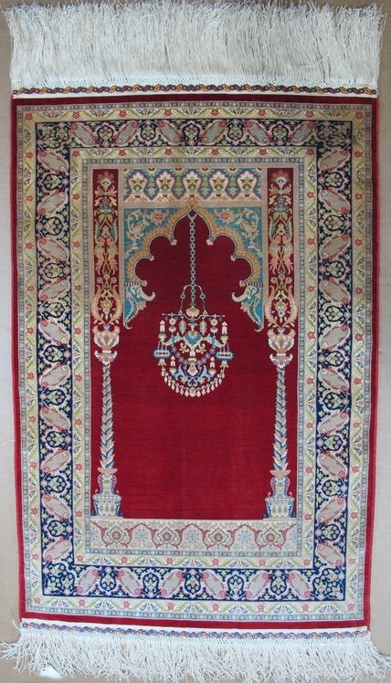 Silk turkish hereke collector piece