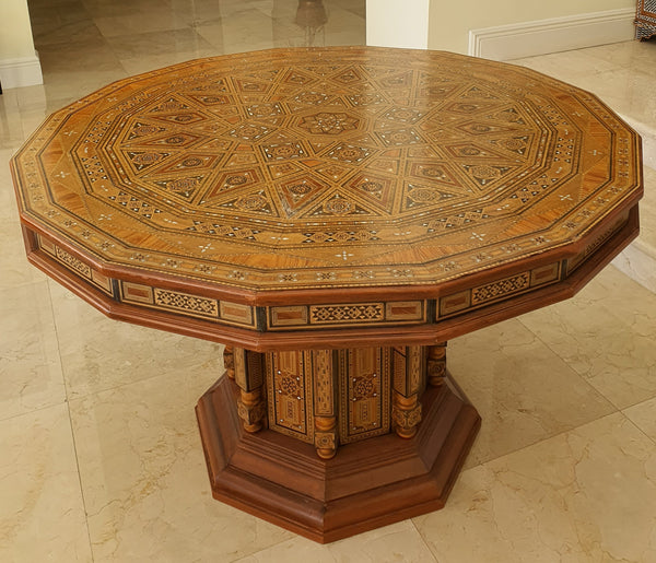 Mosaic Damas Center Table