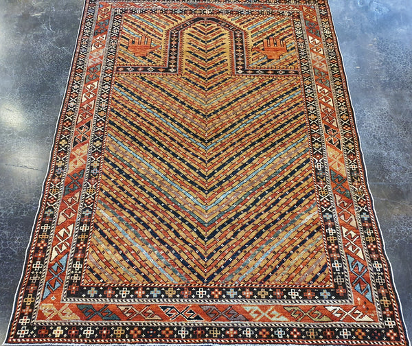 unique Shirvan Maraselli rug