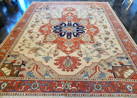 turkish serapi rug for sale
