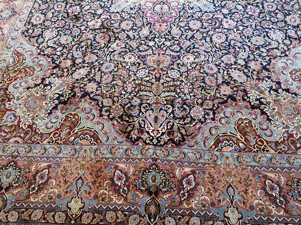 decorative silk area rug