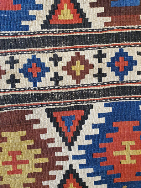 details handmade kilim for sale