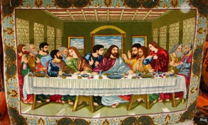 last supper persian rug