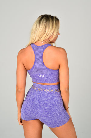 The Cycle Short - Purple