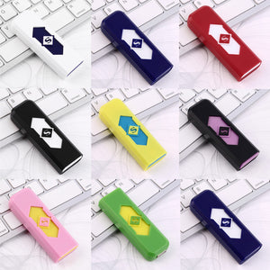 Hot No Gas USB Electronic Rechargeable Battery Flameless Cigarette Lighter