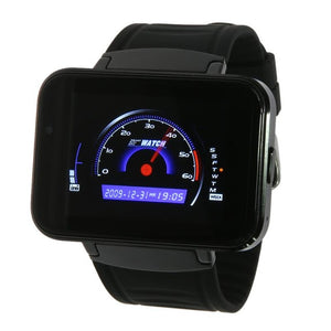 2.2inch LCD Screen Smartwatch 1.2G Dual Core MTK6572A 1.3MP Camera Smart Watch with WiFi GPS GSM Bluetooth 512MB RAM 4GB ROM