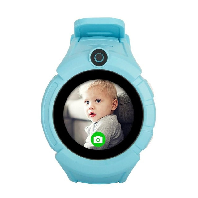 1.4 inch Kids GPS Tracker Smart Watch Wristwatch Phone 0.08MP Camera SIM Card Touch Screen SOS Call Anti-lost Pedometer Camera