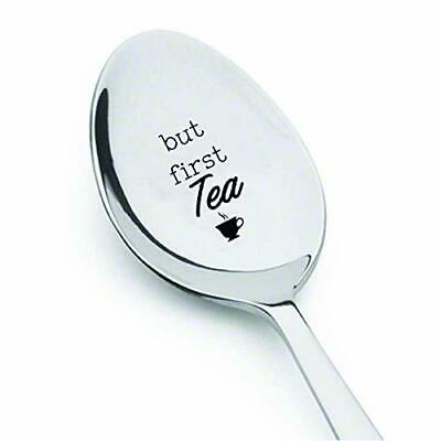 'But First Tea' Silver Spoon - 'NEW'