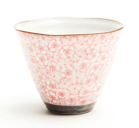 Ripple Edge Cone Tea Cup Range
