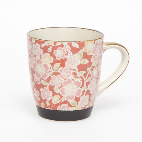 Yuzen Floral 2 Mug Set - Assorted Colours