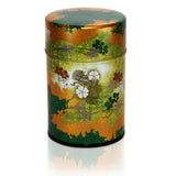 Ginga Tea Cannisters - Green or Bronze