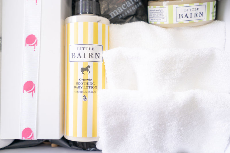organic baby bairn bath lotion and skin products