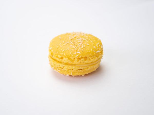 Pure Passion passionfruit flavoured macaron