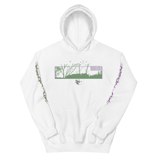 WHITE FOREST HOODIE