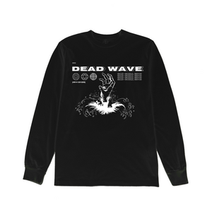 BLACK DEADWAVE LONG SLEEVE