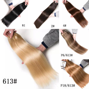 Remy Human Hair Micro Ring & LA Weft 100g Hair Extensions