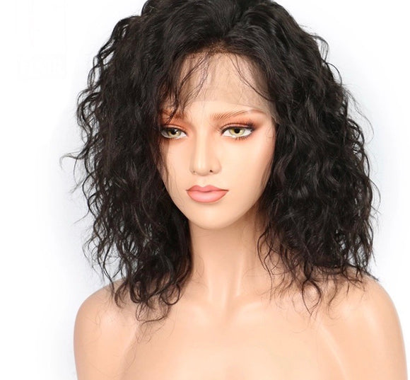 Virgin Short Loose Wave Lace Front Wig