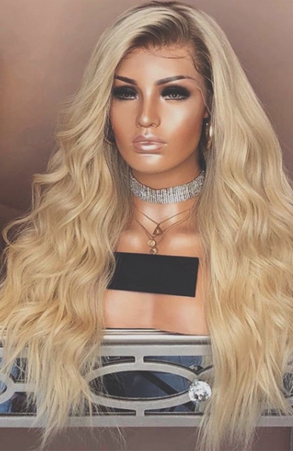 Blonde Ombre Lace Front Wig