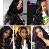 13X4 Lace Wig Malaysian Lace Front Human Hair Wigs For Women Body Wave Lace Front Wig