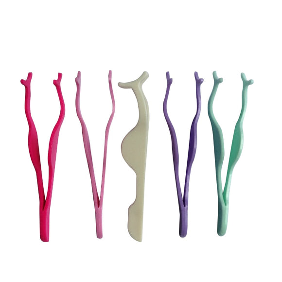 Plastic Eyelash Extension Tweezers