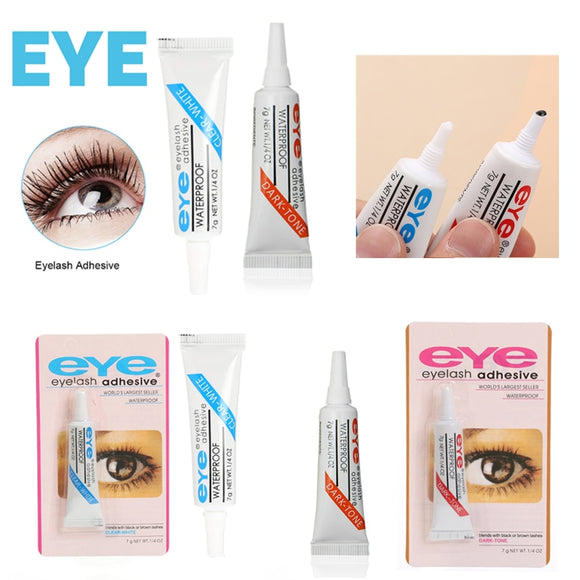 Eyelash Glue Waterproof Adhesive For False Strip Eyelashes