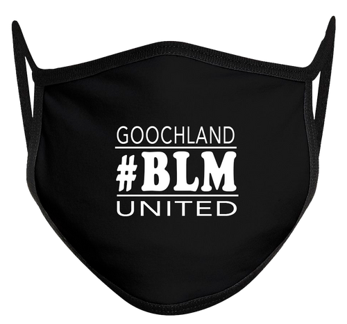 BLM Goochland United Mask