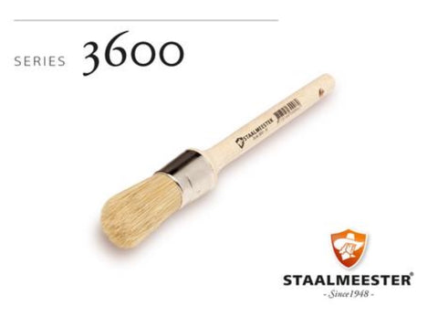 Staalmeester wax Brush